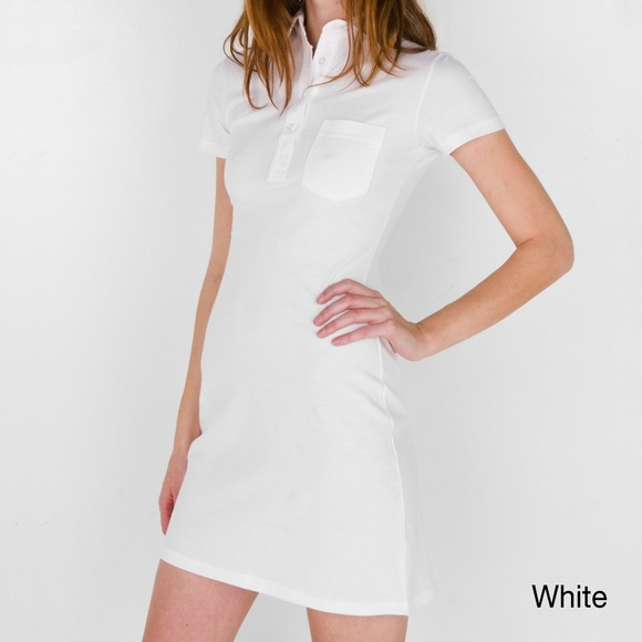 American Apparel Fine Jersey Leisure Dress GREY